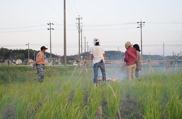 環境を良くするための土地改良は人為により行います。