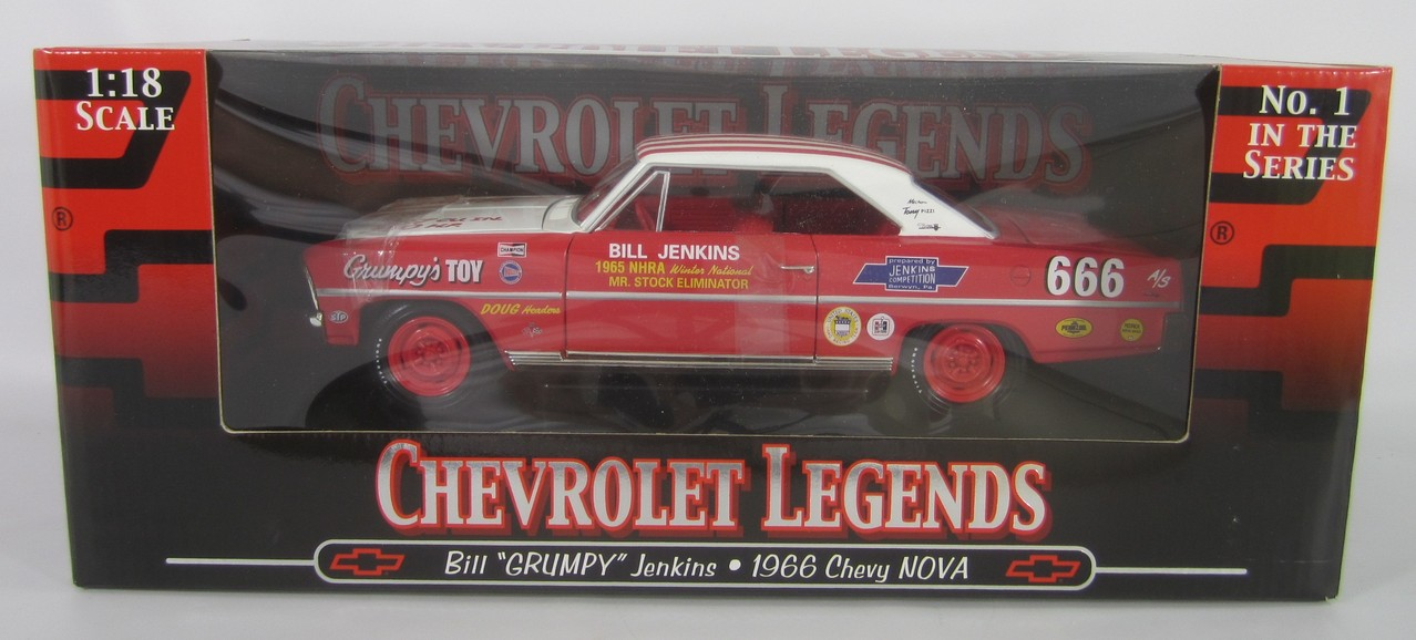 1966 Nova Grumpy Jenkins Race Car Bill S
