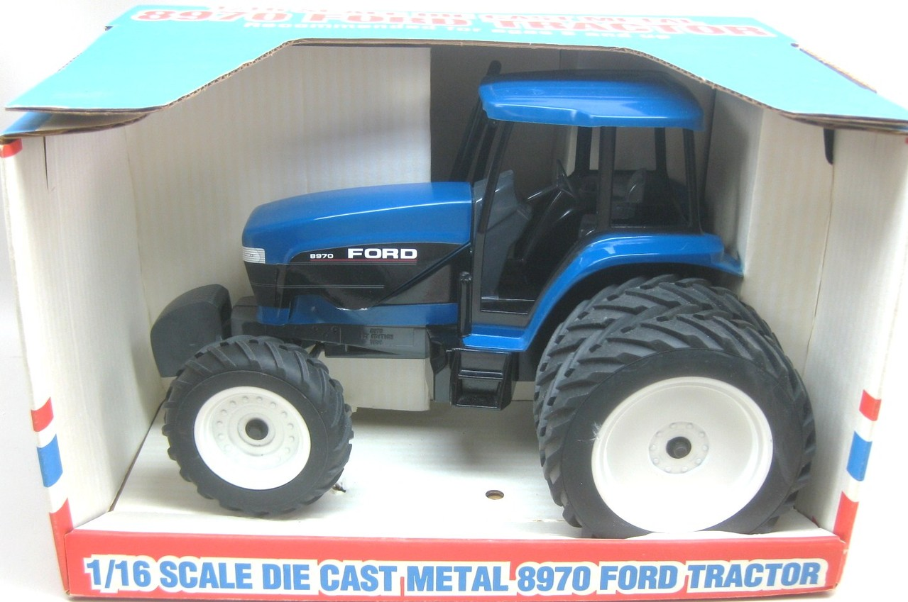 Ford 3000 Tractor Duals : Ford tractor scale model autos post