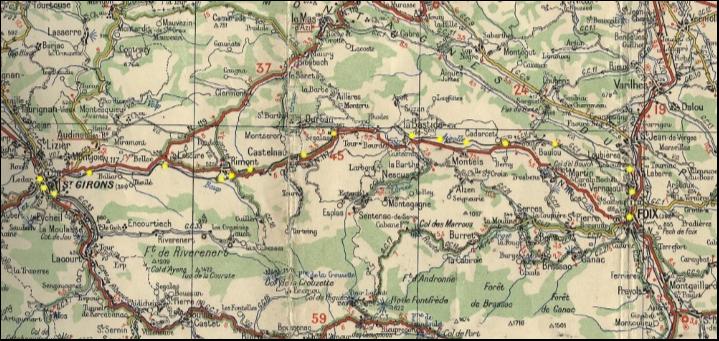 Voie ferrée de Foix à St-Girons