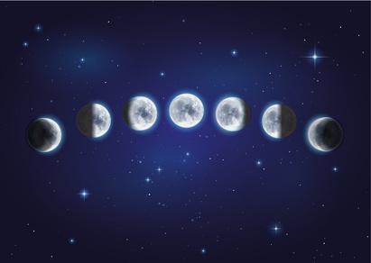 Mondphasen für den gesunden Zyklus