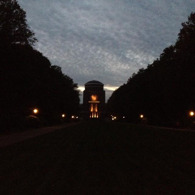 07.11.14: schöne Abendstimmung im Stadpark.
