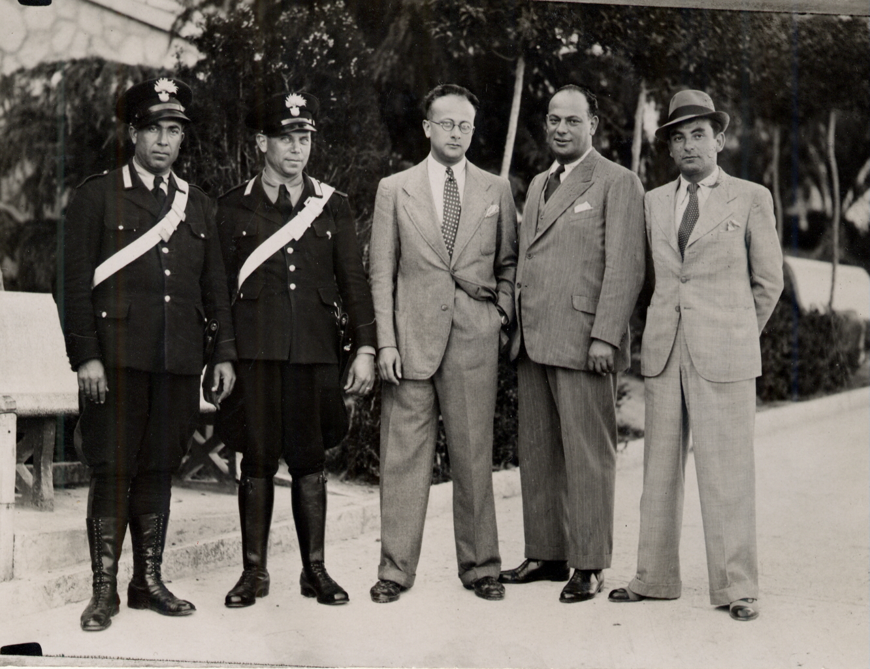 Giacomo Nagler tradotto a Casoli dal Campo di Ferramonti di Tarsia. Foto scattata il 01.06.1941