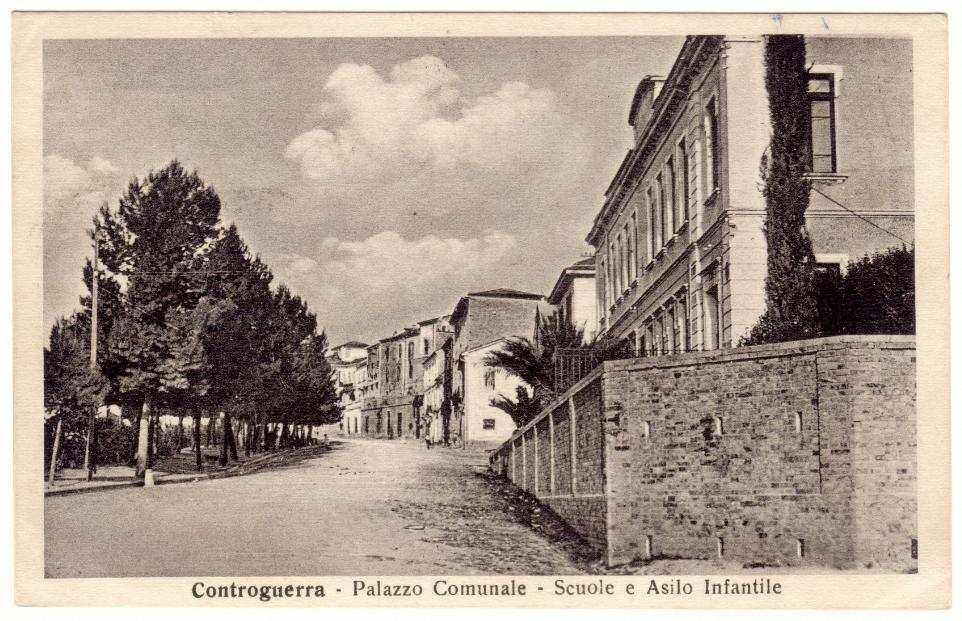 Cartolina con timbro postale del 25 agosto 1943