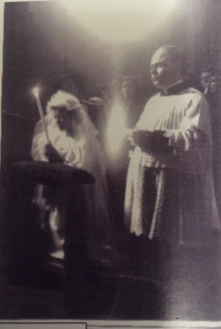 Battesimo, cresima e prima comunione di Susy mentre era ancora internata.