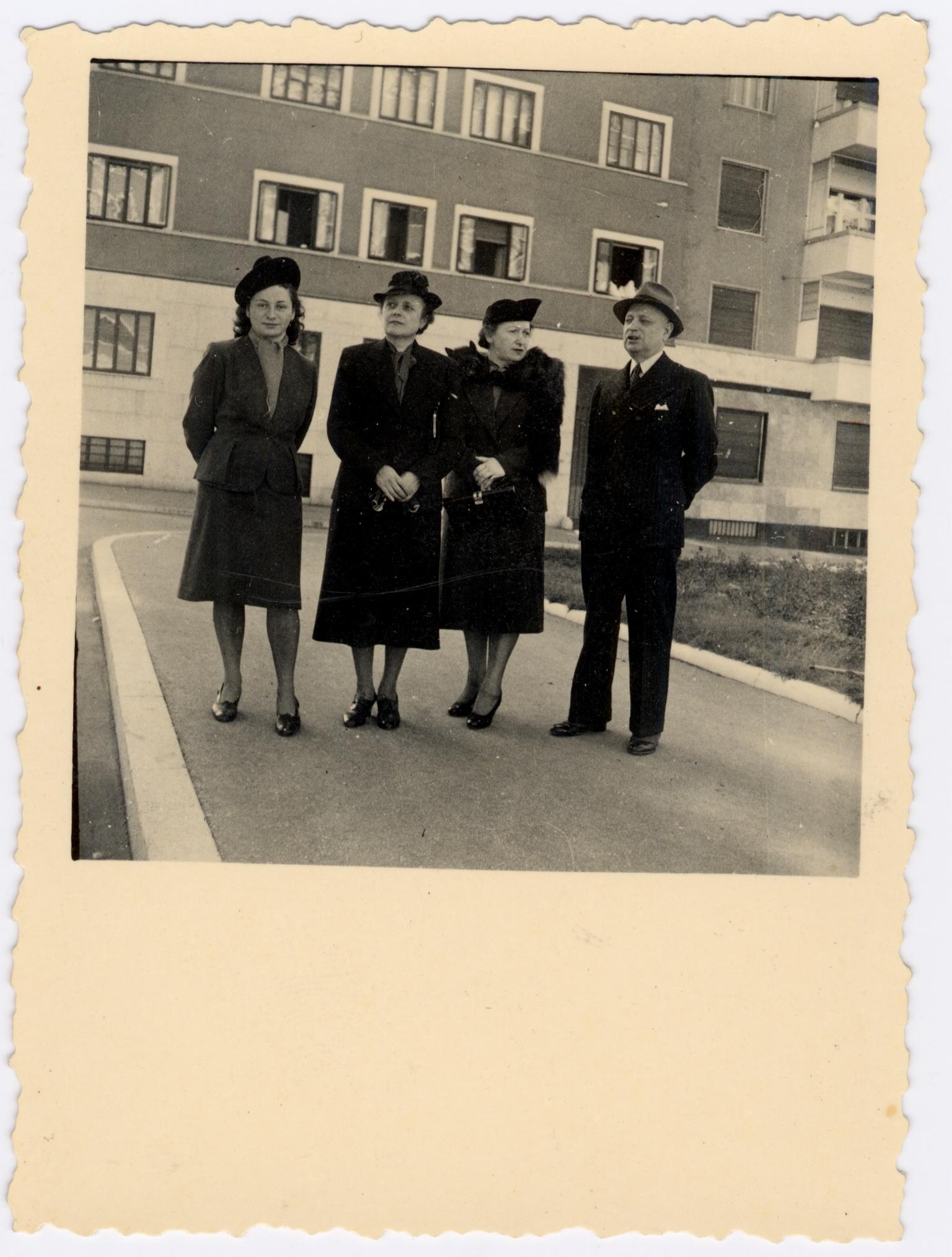 Famiglia Rosenzweig con Eige