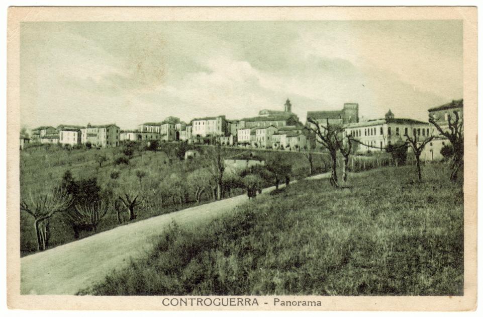 Cartolina con timbro postale del 27 marzo 1941