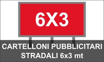 Cartelloni pubblicitari 6x3