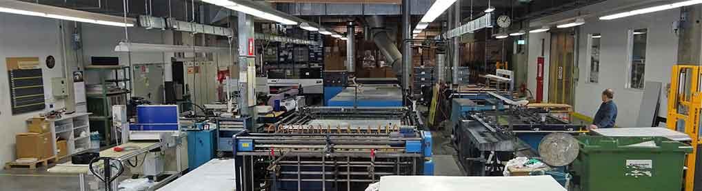 Produktionshalle Siebdruck