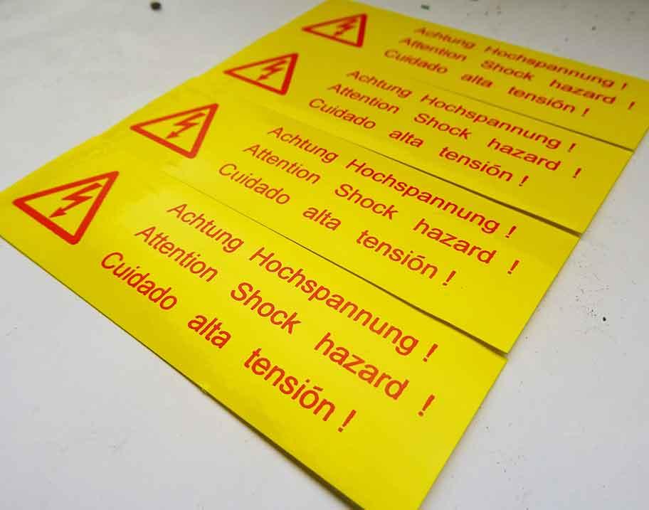 Kennzeichnung von Gefahrenstoffen