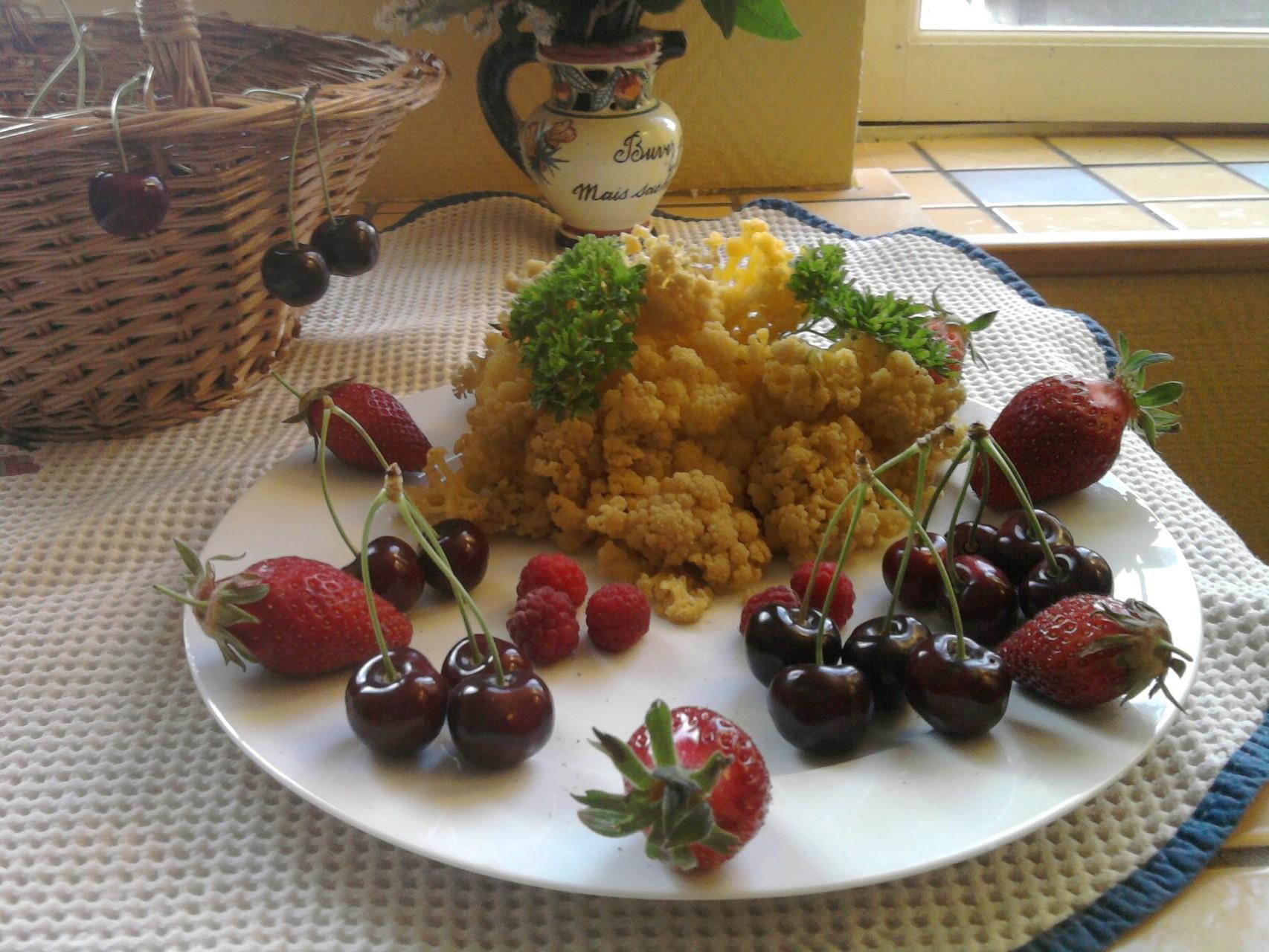 Cueillette du jardin potager