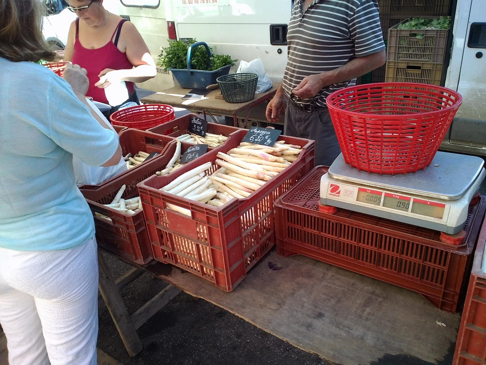Le marché de la Charité sur Loire