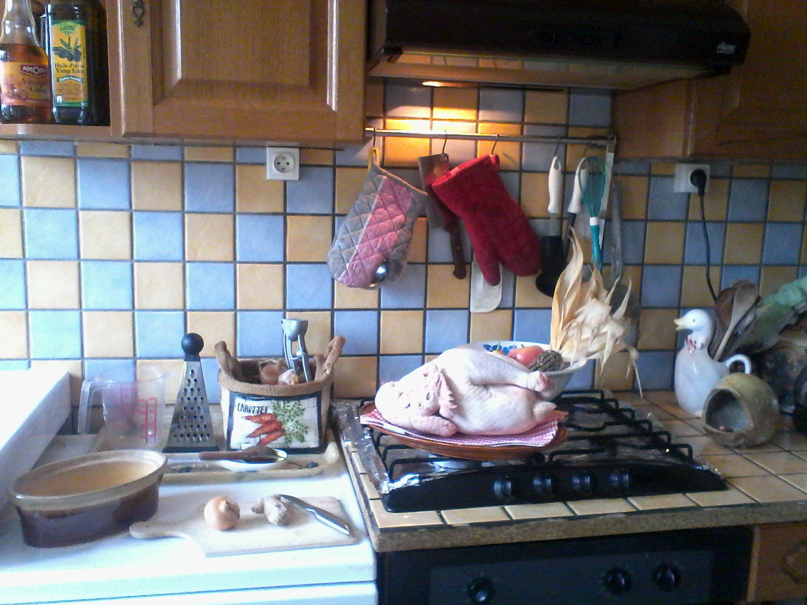 Atelier cuisine : le chapon