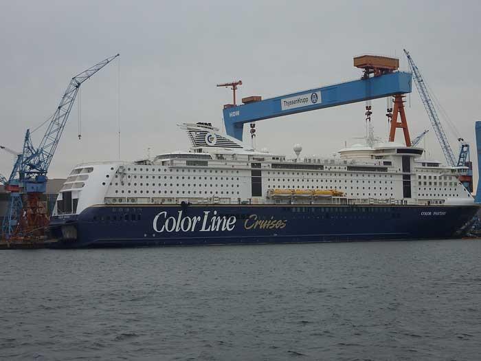 Kreuzfahrtfeeling zwischen Kiel und Oslo