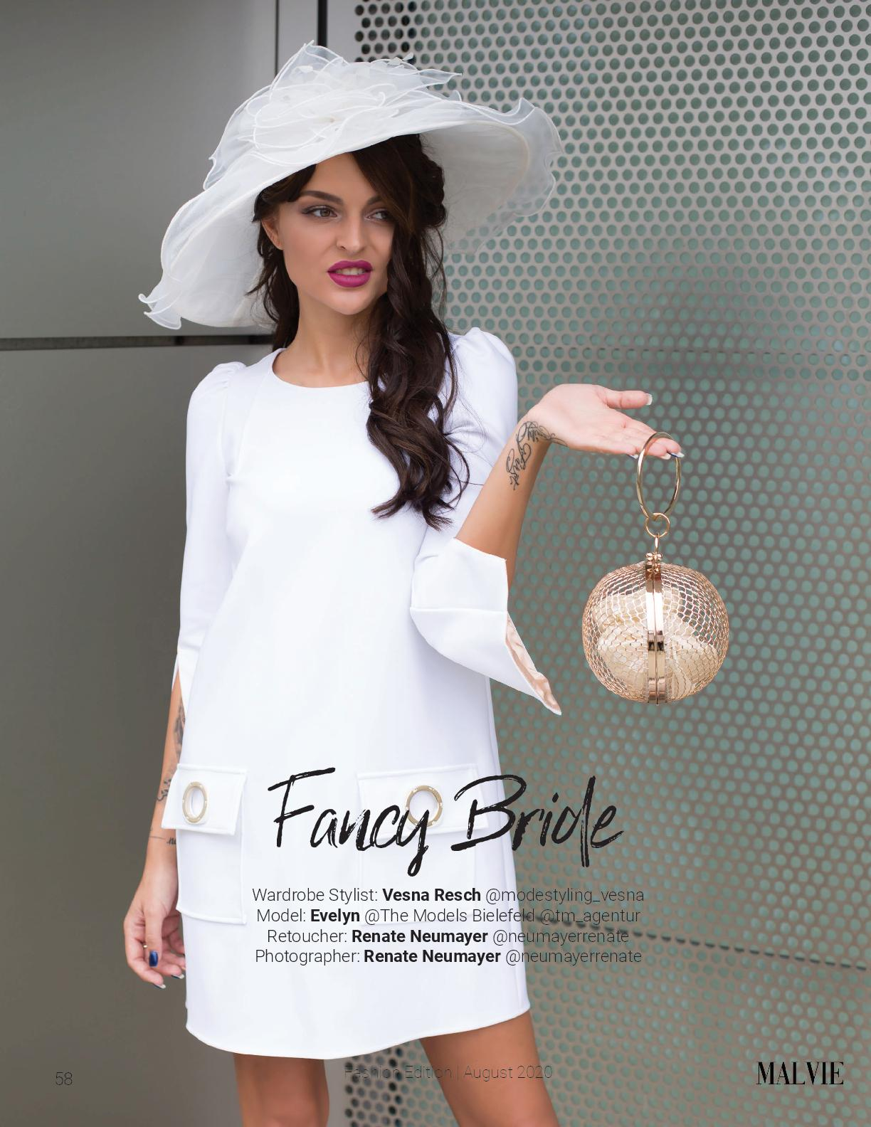 Fancy Bride - MALVIE PARIS, August 2020 Vol. 08