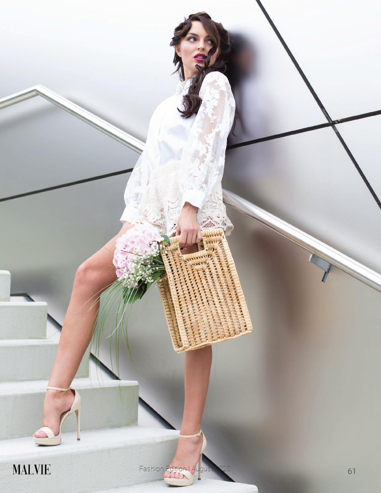 MALVIE PARIS, August 2020 Vol. 08 - Fashion Stylist: Vesna Resch