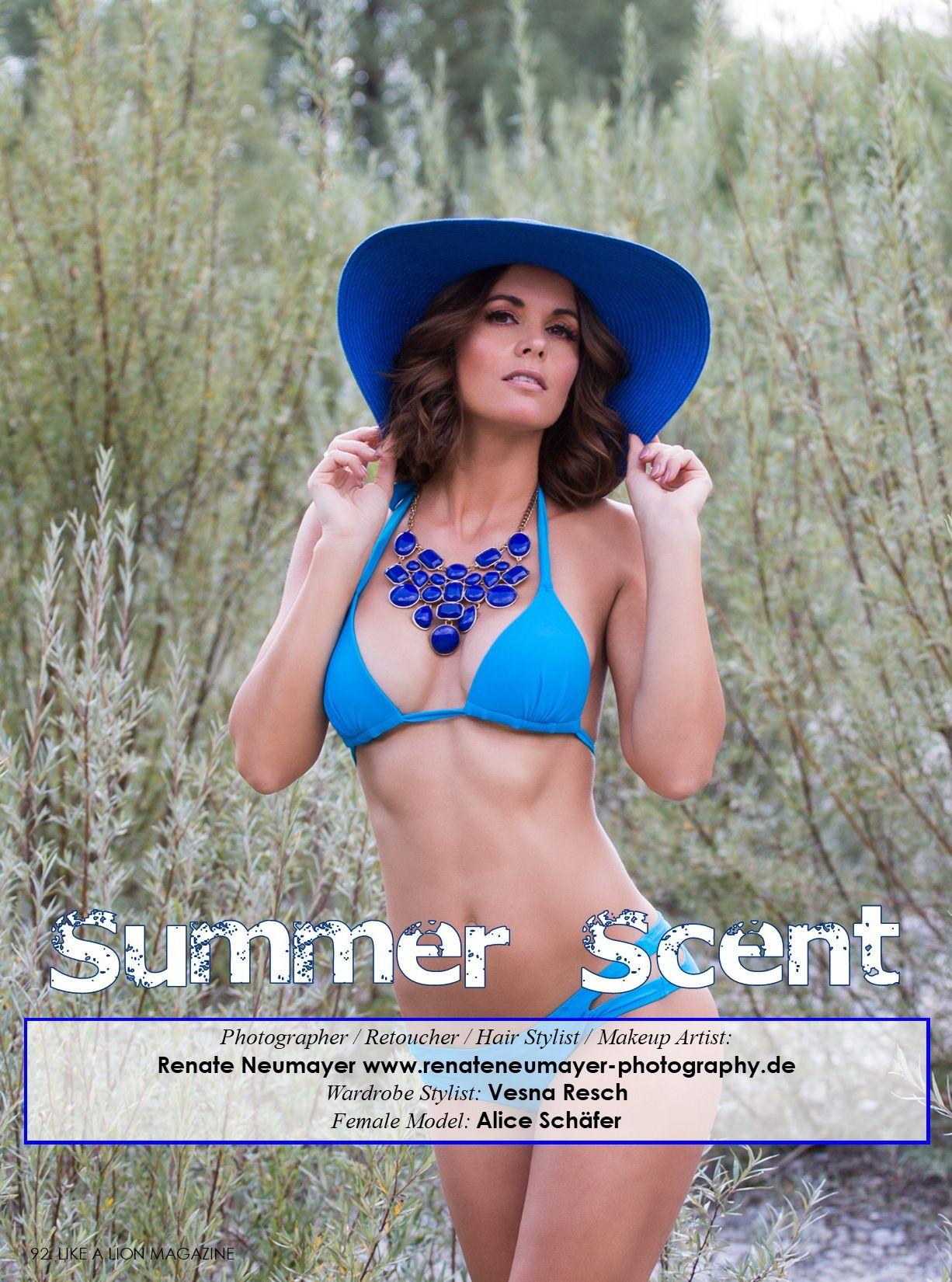 Summer Scent - LIKE A LION, June 2021 Vol. 3