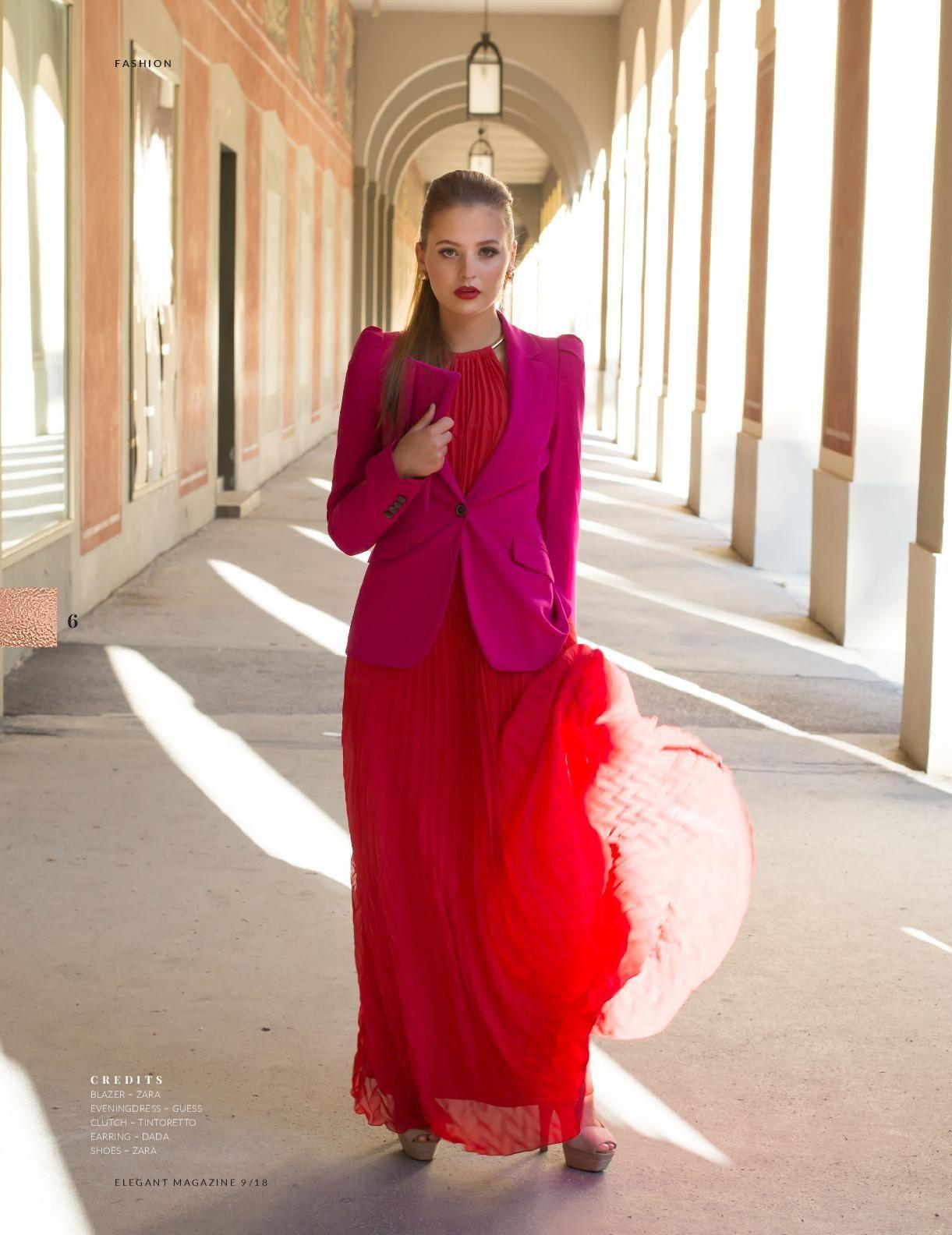 ELEGANT NYC, September 2018 Vol. 51 No. 6 - Fashion Stylist: Vesna Resch