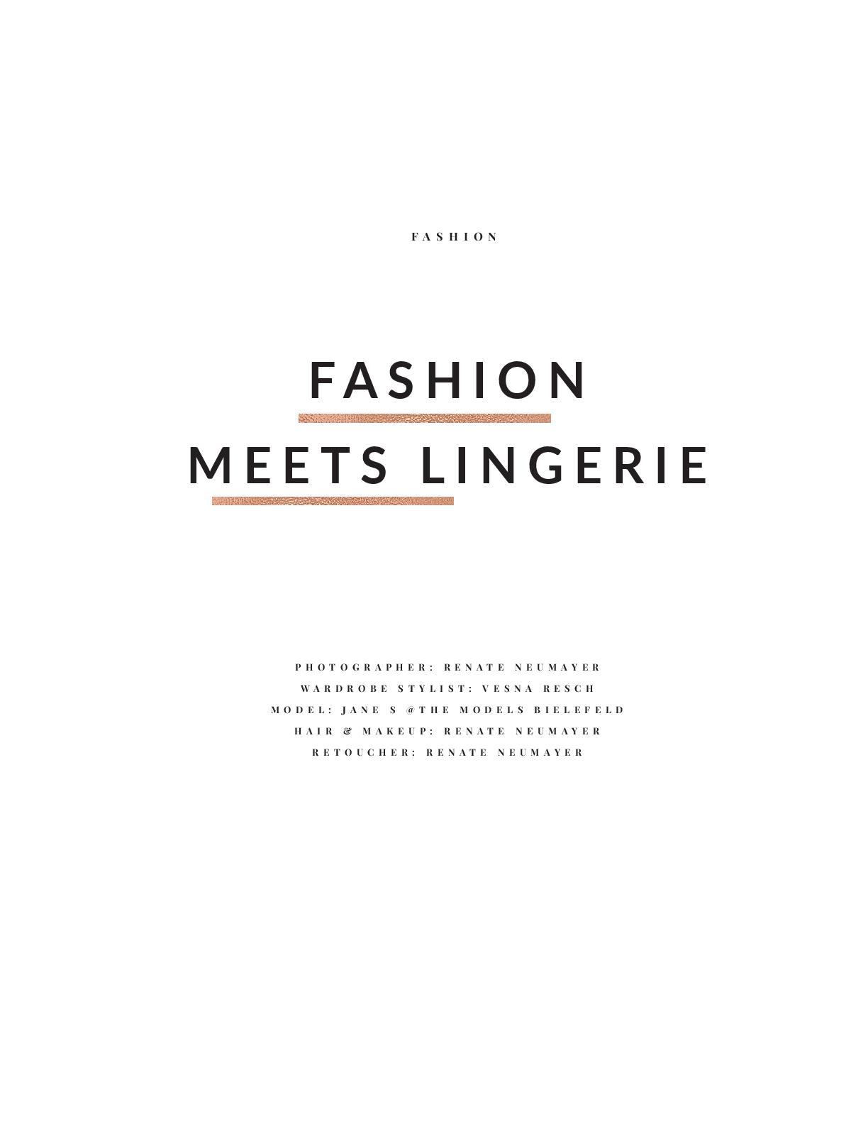 ELEGNAT NYC, August 2018 Vol. 50 No. 2 - Fashion Stylist: Vesna Resch