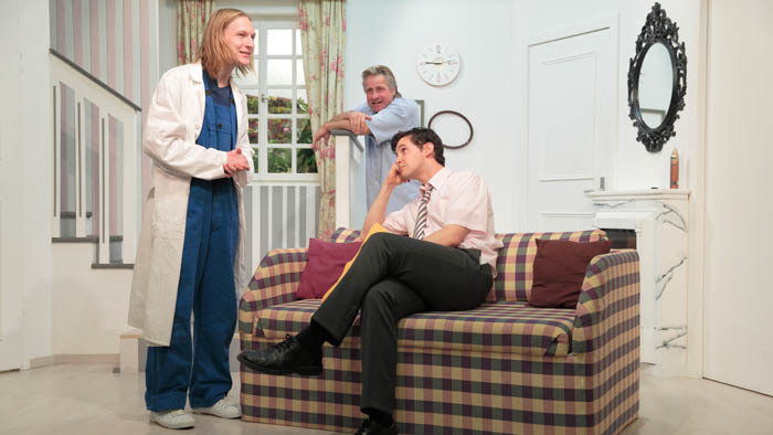TOM, DICK UND HARRY. Regie: Daniel Pascal. Linzer Kellertheater 2013.