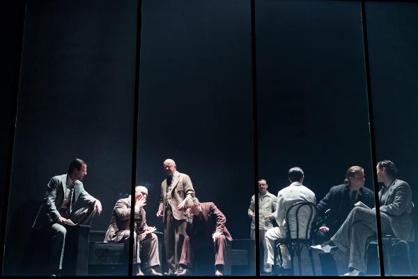GEISTER IN PRINCETON. Regie: Anna Badora. Rolle: Karl Menger. Ⓒ Lupi Spuma