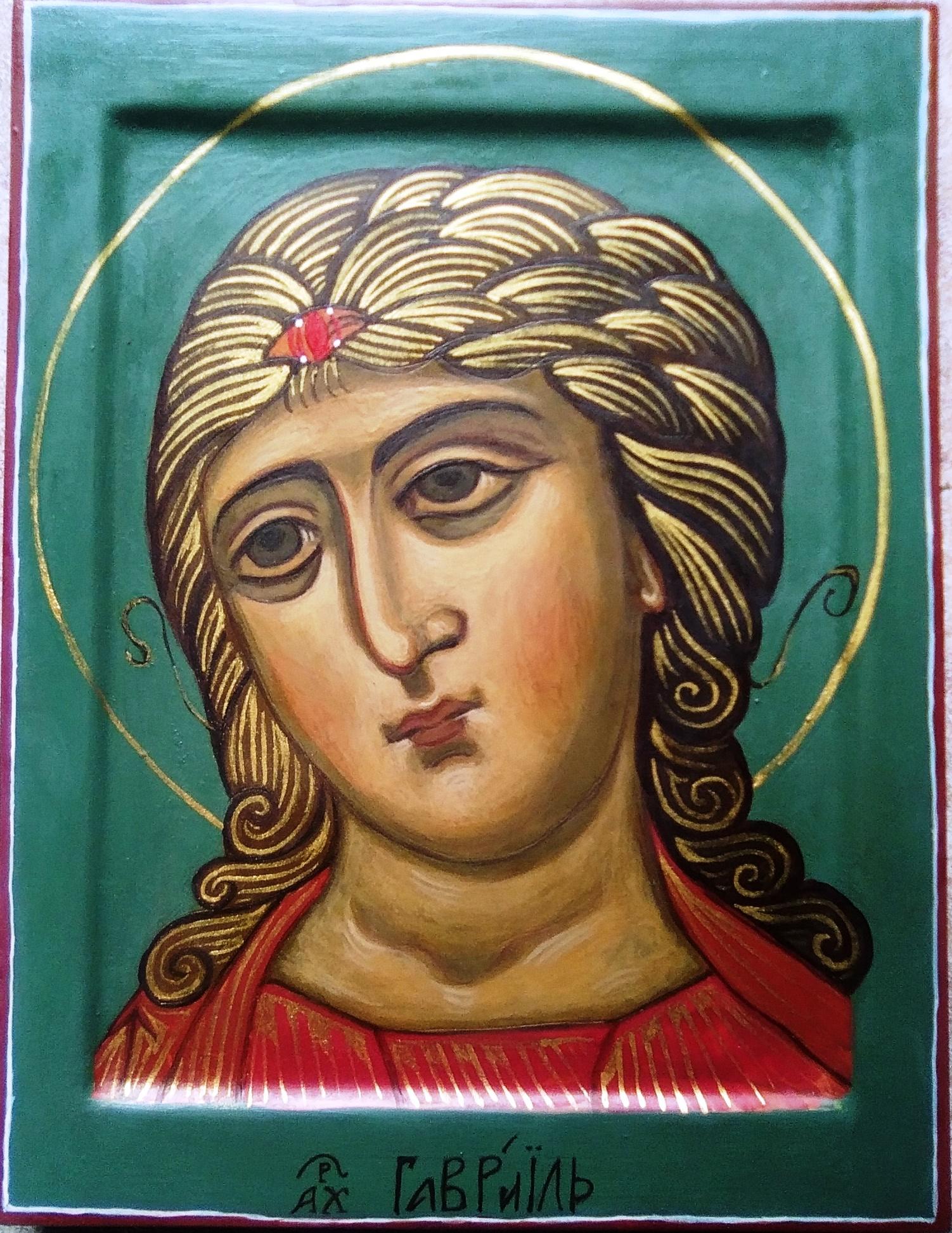 Der Engel mit dem goldenen Haar, April 2017, geweiht