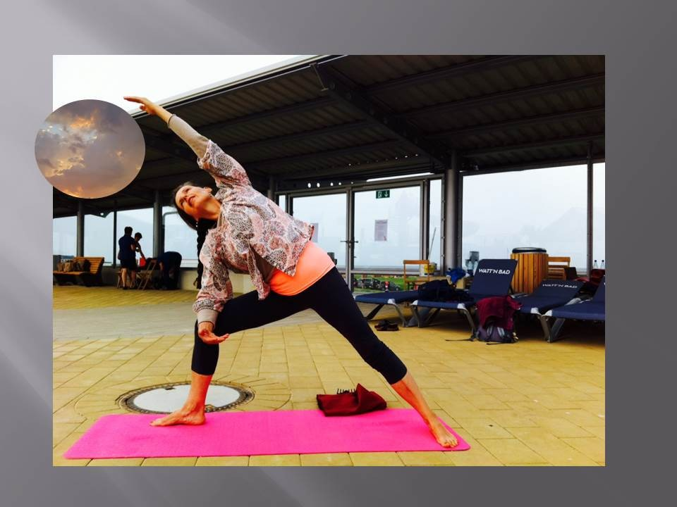 Vera beim Yoga