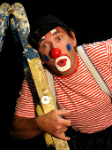 Klaus Peter Wick als Clown