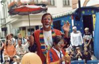 Clownauftritt