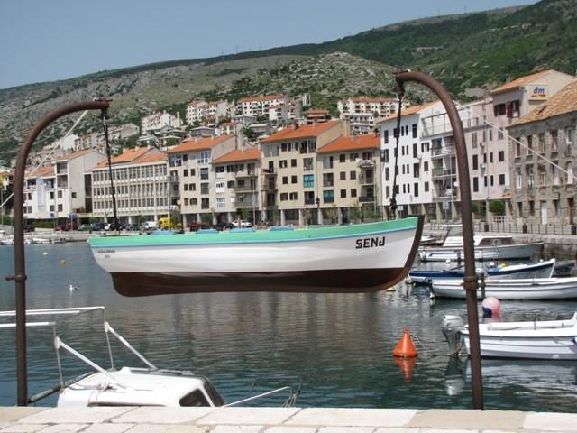 Hafen in Senj