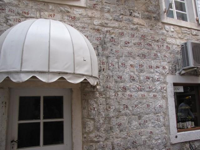 Neu aufgebautes Haus in Budva