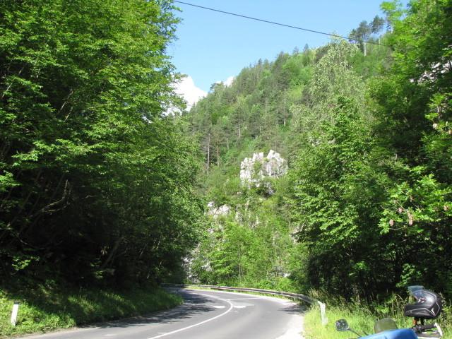 Straße Richtung Koprivna