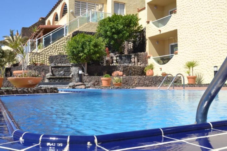 Pool der Ferienwohnung in der Anlage