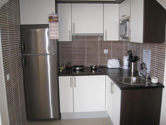 Küche Ferienwohnung komplette Ausstattung.