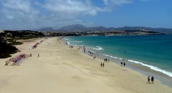 Strand von Costa Calma 30 Meter entfernt
