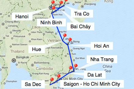 Bild: Vietnam 3 Wochen Rundreise