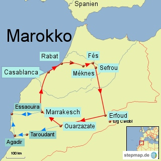 marokko als backpacker lupesi travel routes. Black Bedroom Furniture Sets. Home Design Ideas