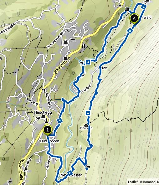 Bild: Wanderung rund um Hirschegg