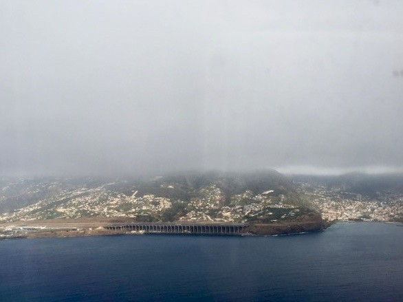 Approaching Madeira