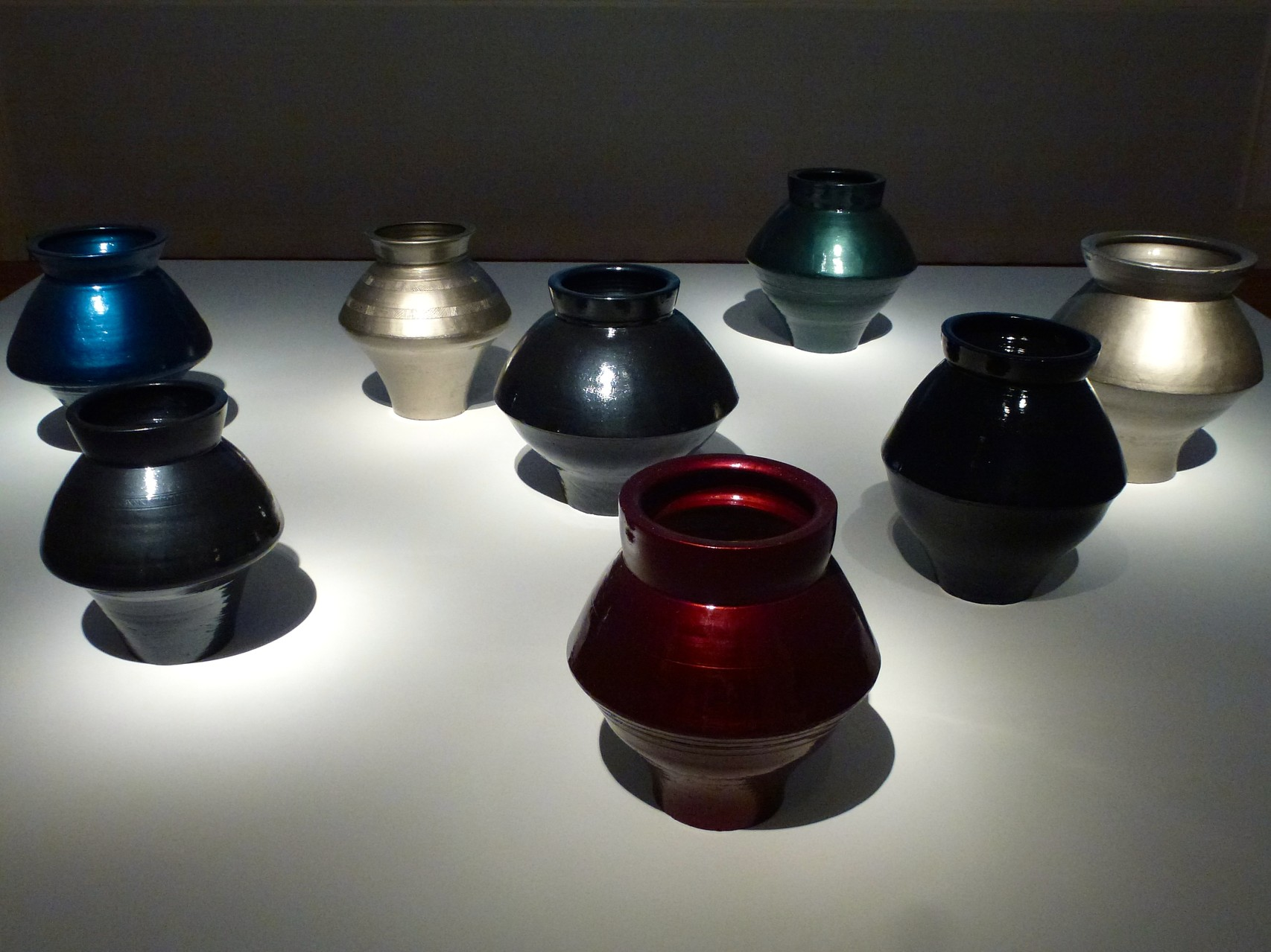 Han Dynasty Vases with Auto Paint (Vasen der Han Dynasty mit Autolack von Mercedes_2)