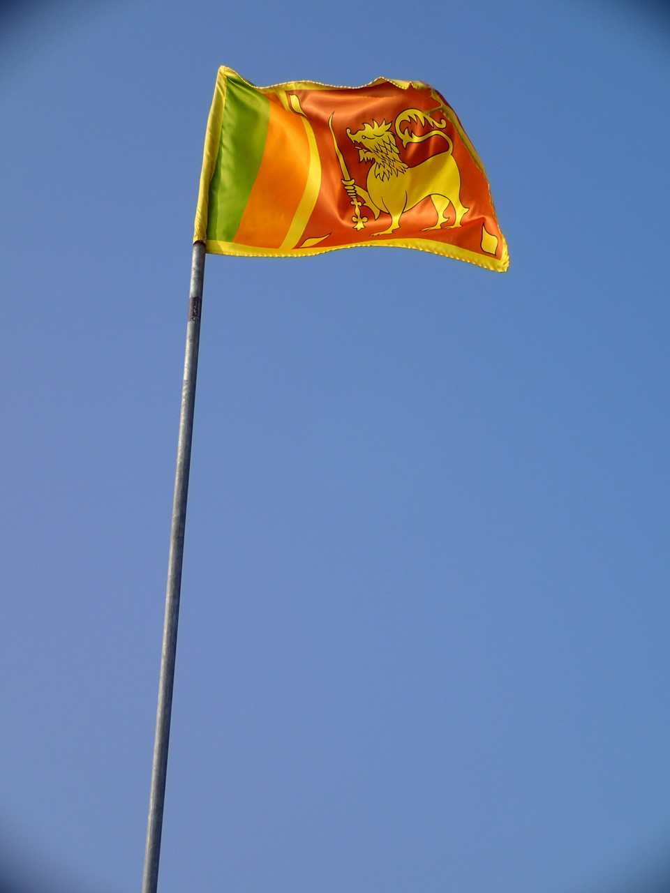 Bild: Flag of Sri Lanka