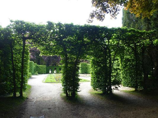 Bild: Torbögen im Rosengarten