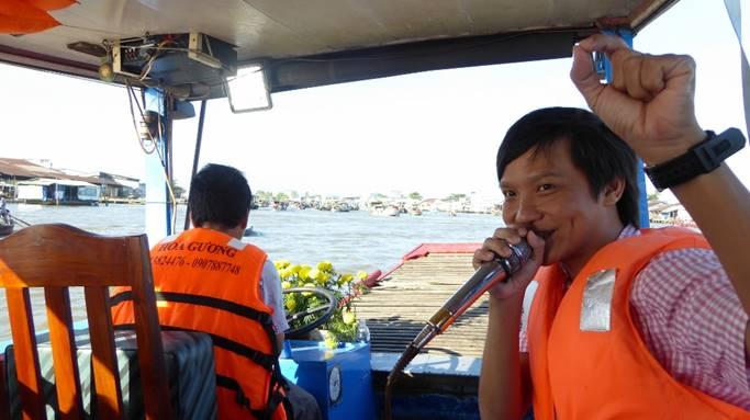 Bild: Unser Reiseleiter in Vietnam: Mr. Huy