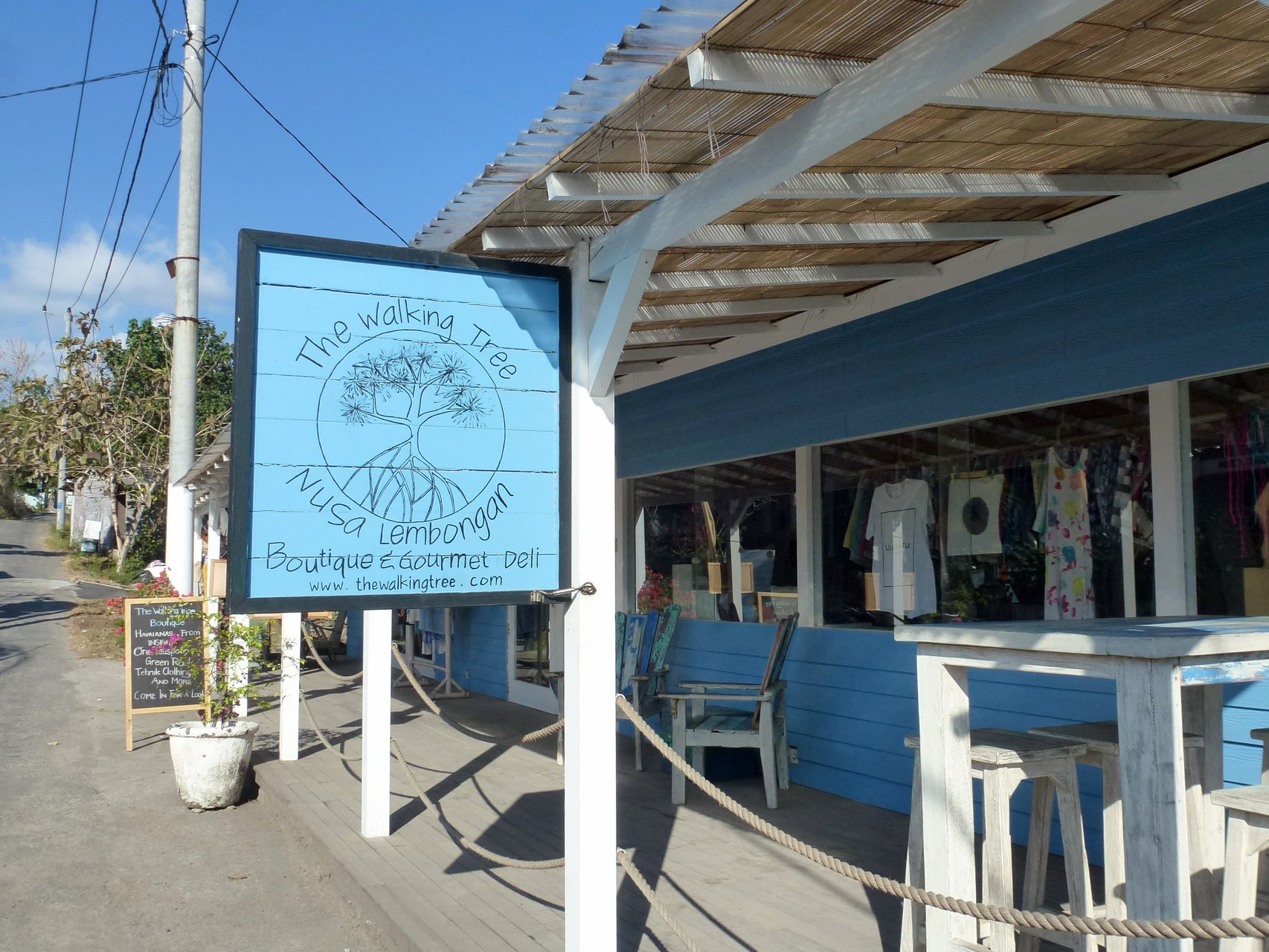 Boutique beim Sandy Beach