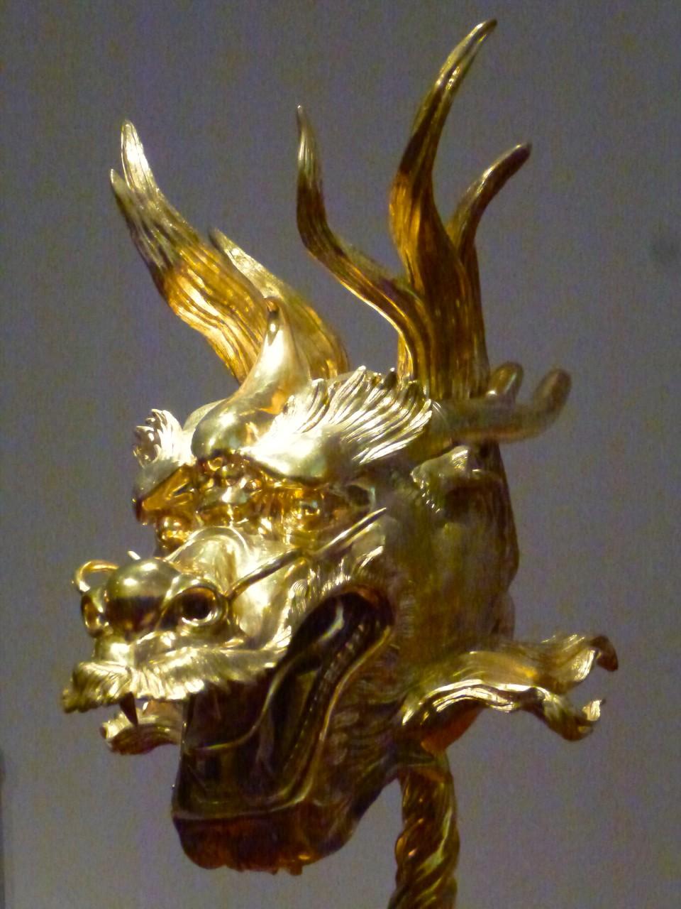 Circle of Animals (Chinesischer Tierkreis - vergoldete Bronze - 12 Statuen)_4