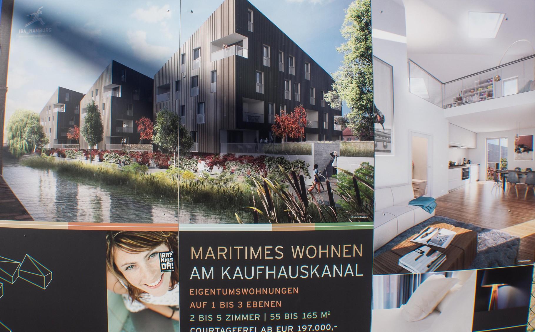 Maritimes Wohnen am Kaufhauskanal