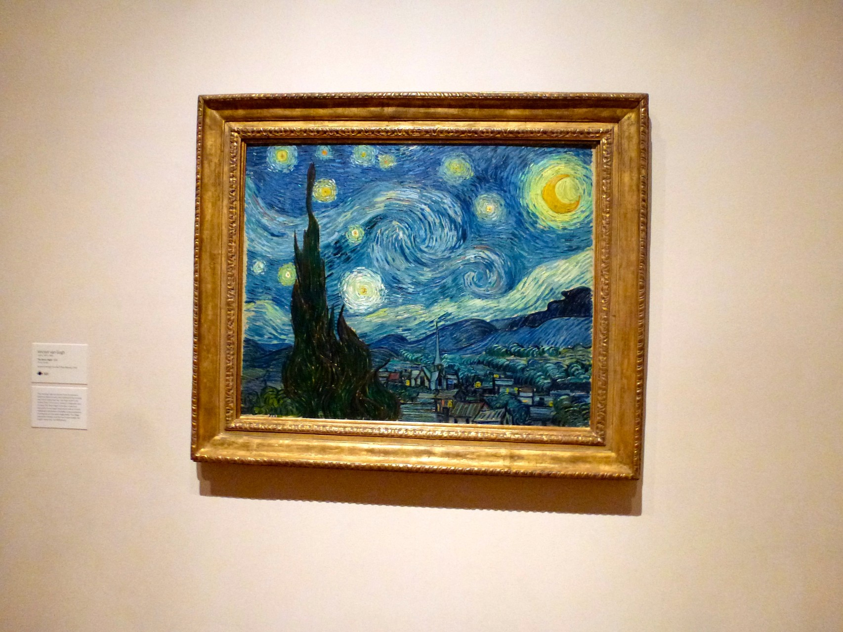 Vincent van Gogh - Sternennacht (1889)