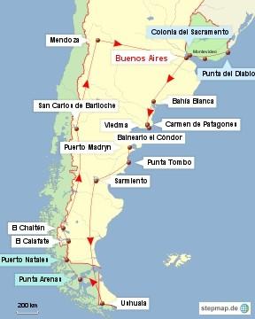 Bild: Argentinien, Chile und Uruguay_2010