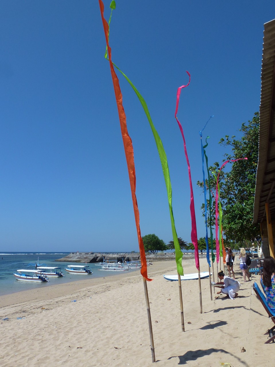 Bild: Bali-Fahnen - Foto 3