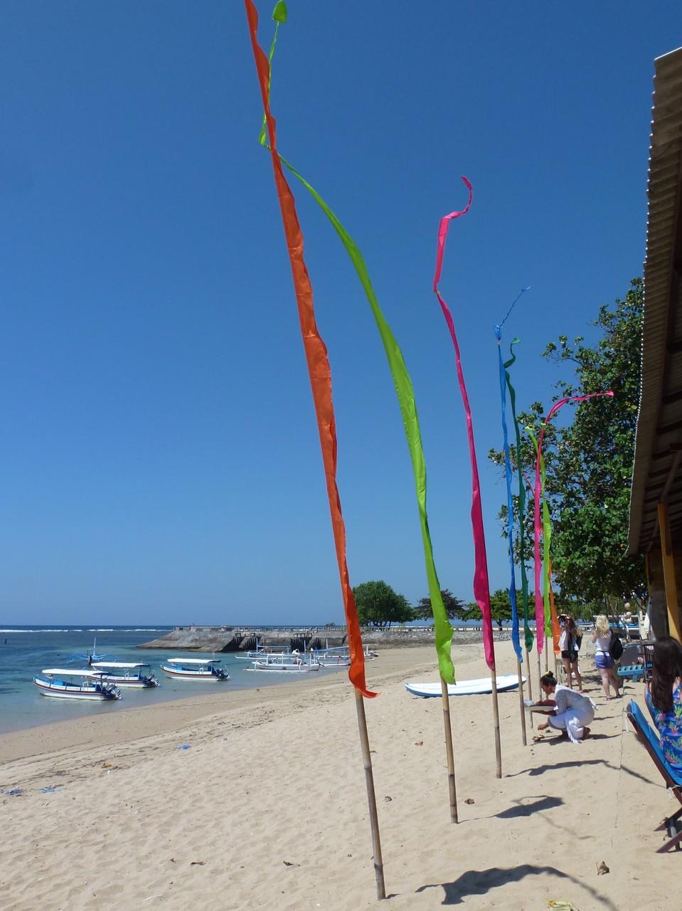Bild: Bali-Fahnen - Foto 1